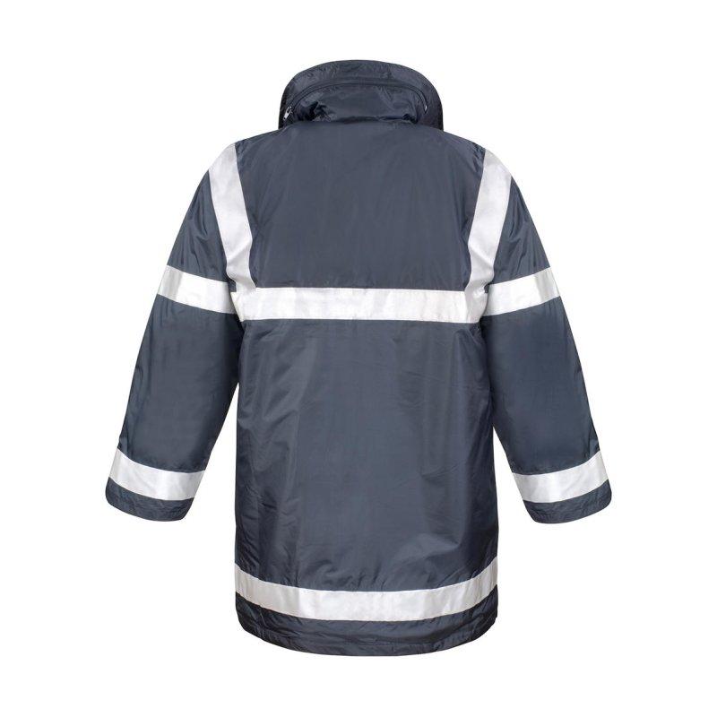 Lang Jacke mit Reflexstreifen verschiedene Farben, 29,90 €